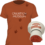 Creation Museum Hat and T-Shirt Combo: Medium