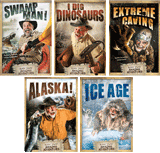 Buddy Davis' Amazing Adventures 5-DVD Combo: Video Downloads