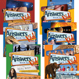 The Answers Book for Kids Volumes 1 - 6: eBook Set
