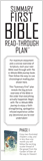 Bible Read Through Bookmark: PDF