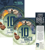 The 10 Minute Bible Journey Audiobook: Hardcover + MP3