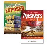 The New Answers Book & Evolution Exposed Set