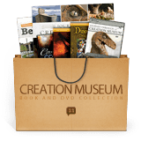 Creation Museum Book and DVD Collection