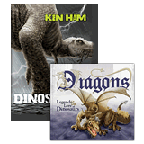 Dinosaurs & Dragons Book Combo