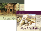 Adam & Eve and Noah's Ark Book Combo
