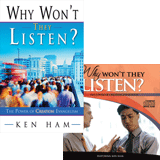 Why Won't They Listen? Book/Audiobook Combo