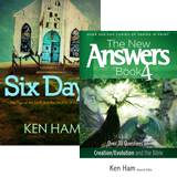 Six Days and The New Answers Book 4 Combo
