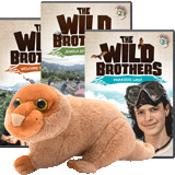 The Wild Brothers Adventures 1 - 3 + Newt