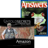 Untold Secrets & Answers Magazine Combo