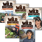 The Wild Brothers Adventures 1-5: DVD Pack
