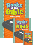 Books of the Bible: Coloring Book, Flashcards and Trading Cards Pack