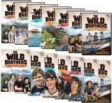 The Wild Brothers Adventures 1-7 DVD and Download Combo
