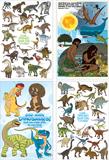 Dinosaur Poster Pack