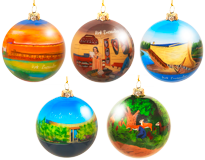 Hand-painted Collectible Ornament Collection