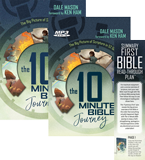 The 10 Minute Bible Journey Audiobook: Hardcover + CD