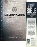 The Memorization Study Bible: Book/Bookmark