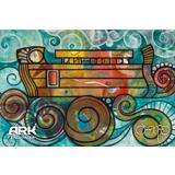 Oscar Ark on the Waves Postcard: 10-pack