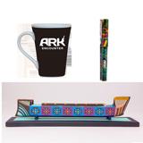 Oscar Ark Desk Set: Squares - Green