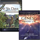 Genesis: Paradise Lost and In Six Days DVD Combo