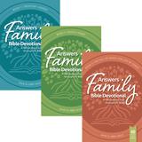 Answers Family Bible Devotional Books 1-3
