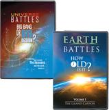 Earth & Universe Battles DVD Combo