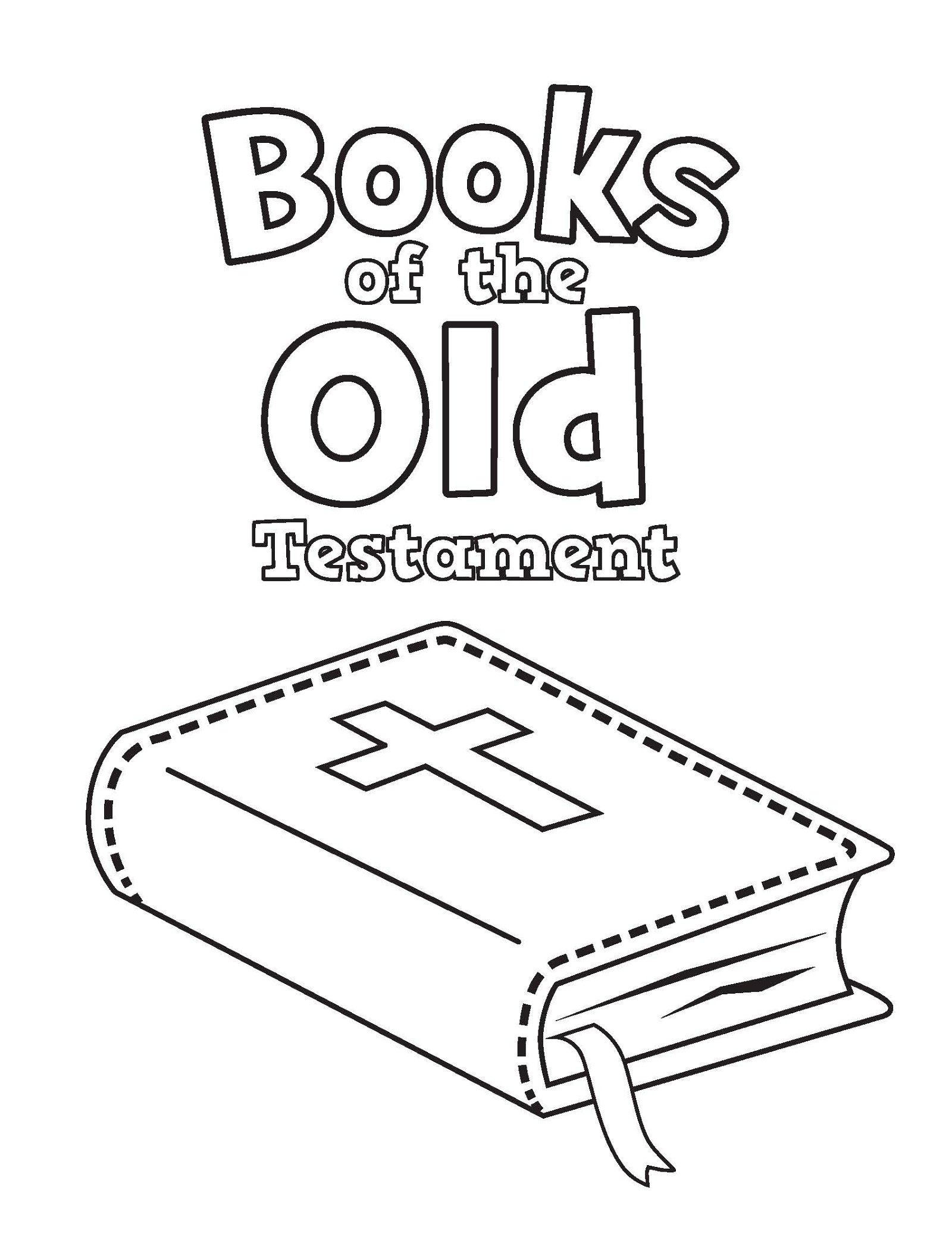 Books Of The Bible Coloring Pages Books Best Free