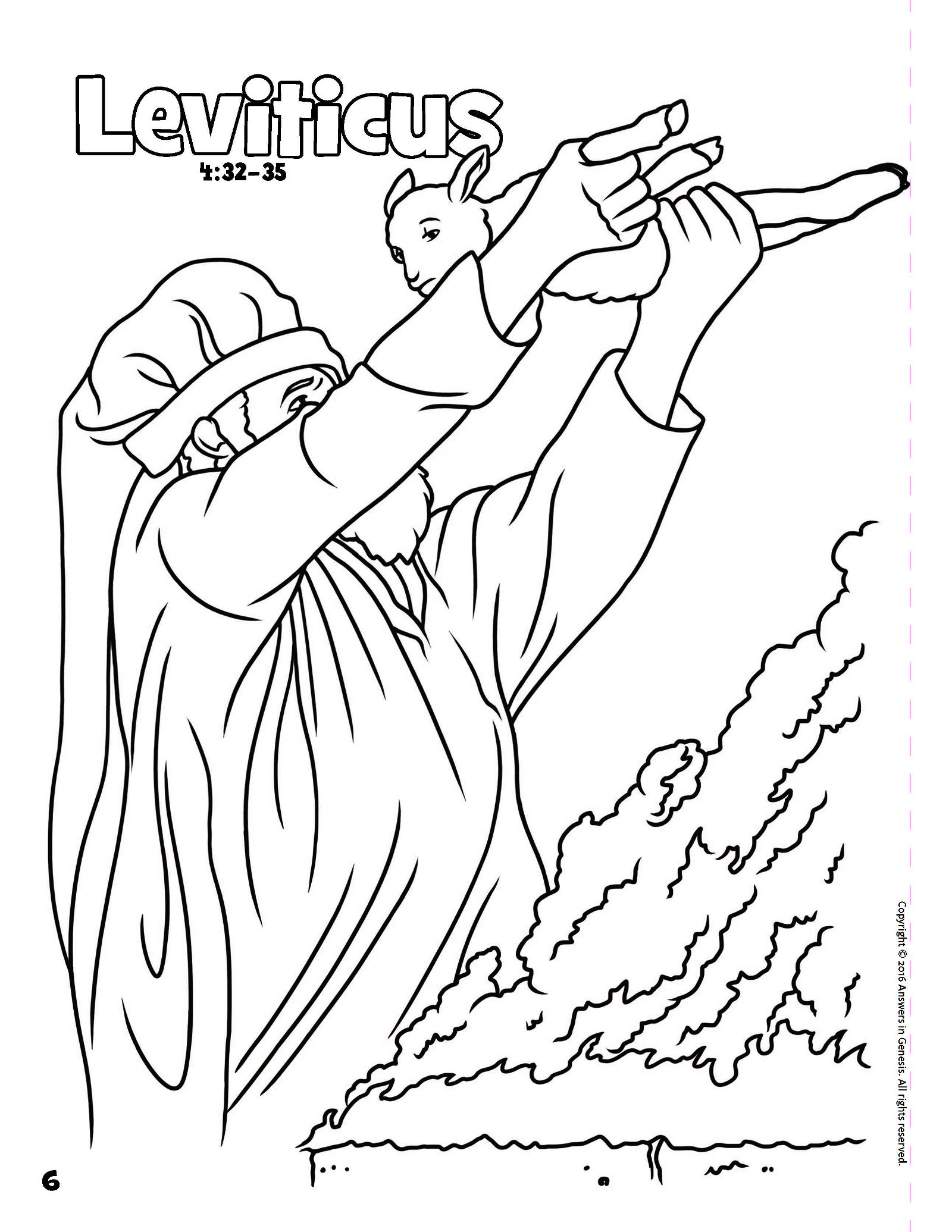 Books Of The Bible Coloring Book