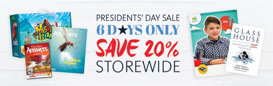 Celebrate Presidents' Day Savings!