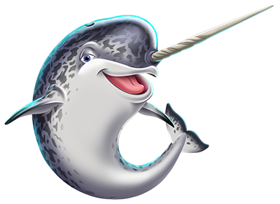 Spike the Narwhal