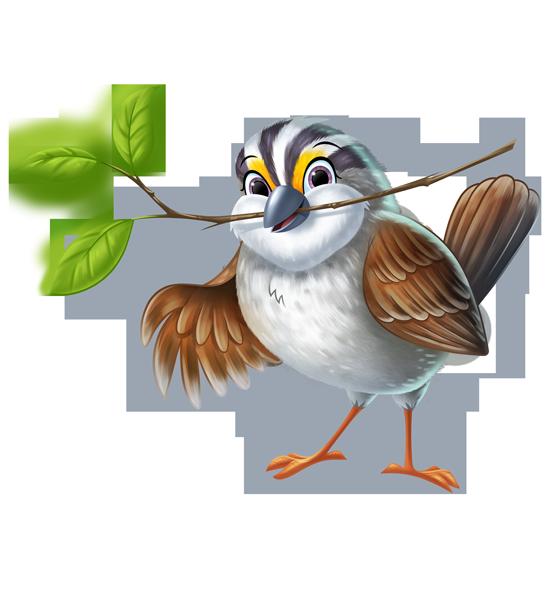 Flutter the Sparrow