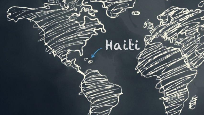 Day 1: Haiti on World Map