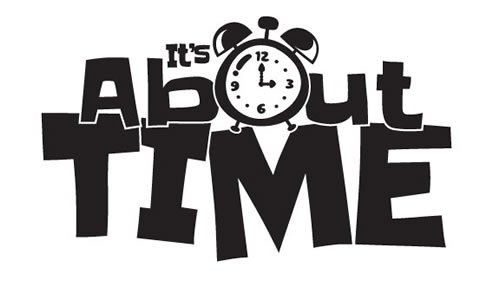 Time Lab Black on White Logo