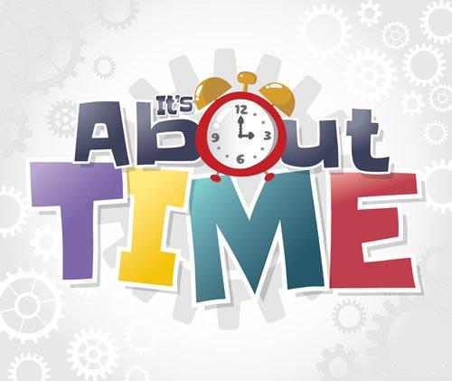Time Lab Logo Poster